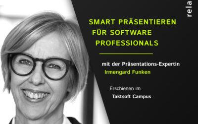 Podcast – Smart Präsentieren für Software Professionals